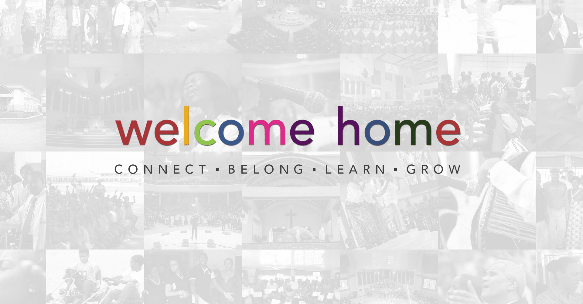 Welcome Home Page