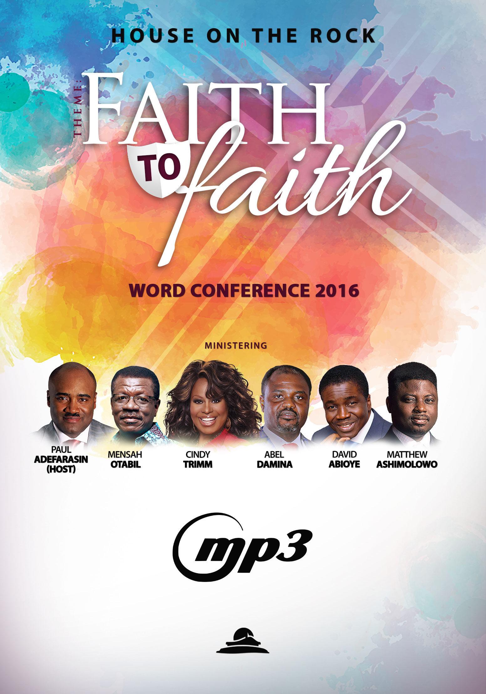 Faith To Faith Word Conference (MP3 CD Pack)